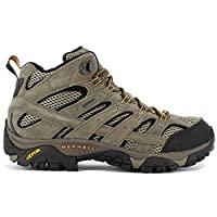 Merrell Men's Moab 2 Leather Mid GTX High Rise Hiking Shoes 3