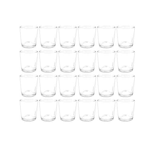 Sandra Rich Teelichtglas 24er Set PROMO klar H. 7cm Ø 5,5cm -