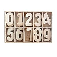Whiie891203 Puzzle IQ Game Educational Toys,Wooden Number English Letter Building Blocks Kids Early Puzzle Learning Toy for Kids Birthday Choice