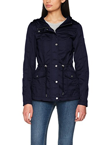 ONLY Damen Onlnew Kate Spring Parka Jacket Otw Noos, Blau (Night Sky Night Sky), 40 (Herstellergröße: L) (Winter Parka)