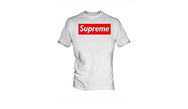 white supreme shirt price