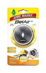 Idea Regalo - Arbre Magique Belair Giugiaro Easy, Deodorante Auto, Fragranza Vanilla Deluxe, Emanatore Liquido, Effetto Lunga Durata, Design Made in Italy