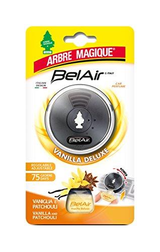 Arbre Magique Belair Giugiaro Easy, Deodorante Auto, Fragranza Vanilla Deluxe, Emanatore Liquido, Effetto Lunga Durata, Design Made in Italy