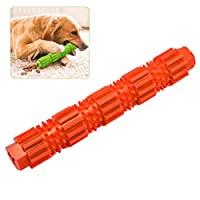 Auplew Dog toothbrush, dental care, natural rubber brush pen, dog chew and pets for puppies
