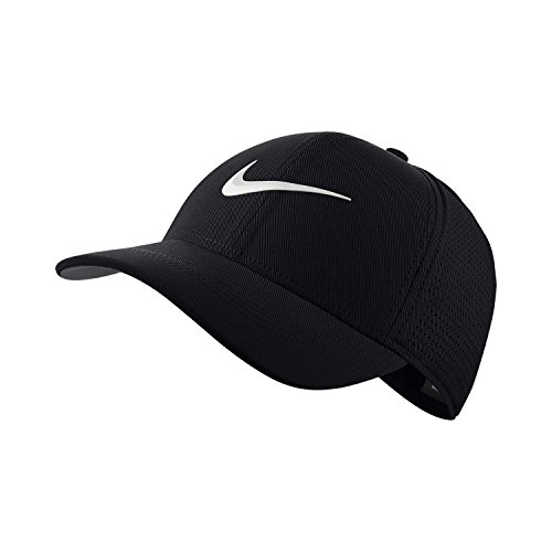 Nike AA2260-010 Casquette Mixte Adulte, Noir Anthracite/Blanc, FR : M (Taille Fabricant : M/L)