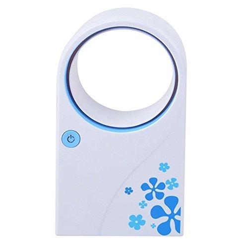 Preisvergleich Produktbild Unbekannt Sommer-Büro-Ausgangsmini-Handkühlventilator-Blattlose USB-Batterie-Tragbare Klimaanlage Kein Blatt-Kühler