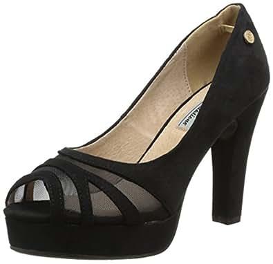 XTI 29750, Escarpins femme - Noir (Black), 37 EU