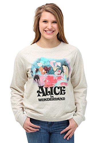 Mighty Fine pour Femme pour Femme Alice au pays des merveilles classique Tea Party pour Femme - blanc - petit