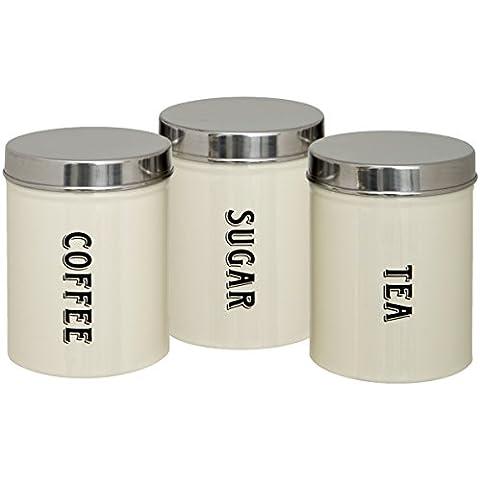 Maturi Contenitori per Te, Caffè e Zucchero,