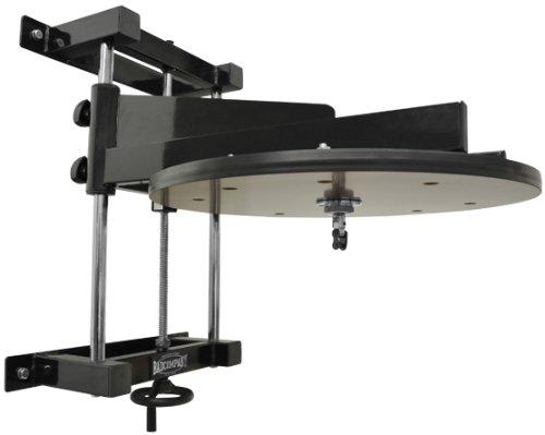 Deluxe Speedball Plattform Set inkl. Drehkugellagerung schwarz / Boxapparat für die Wandmontage BCA-38