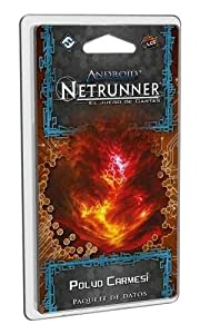 Fantasy Flight Games- Android netrunner lcg: Polvo carmesí - español, Color (FFADN48)