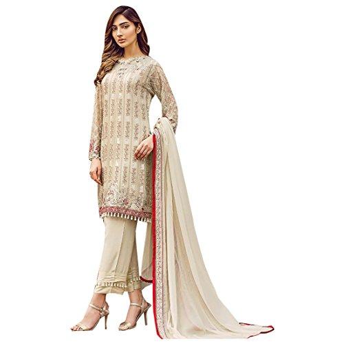 SHRI BALAJI SILK & COTTON SAREE EMPORIUM Indischer Designer Wunderschöne pakistanische Salwar Kameez-Anzug mit Dupatta Ethnic Muslim Party Wedding Wear 7288 -