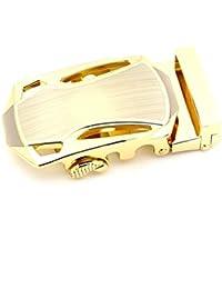 GADIEMKENSD Men Scratch-Resistant Automatic Alloy Buckles Belt Replacement JB48