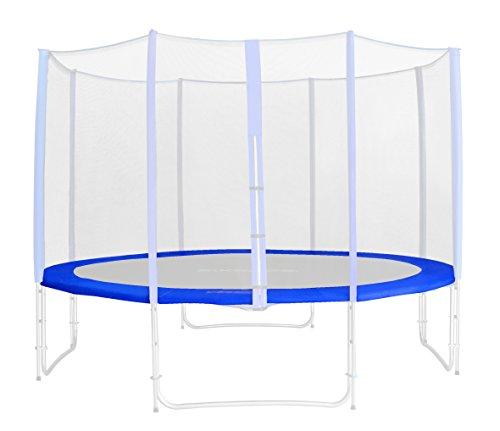 SixBros. Randabdeckung Blau für Gartentrampolin 1,85 M - 4,60 M - Ersatzteil Federabdeckung PVC - RA-543 - Größe 4,00 m 4L