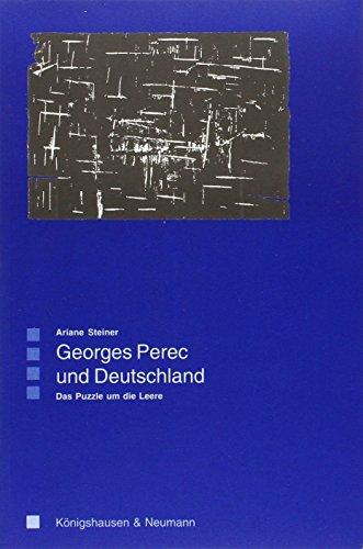 Georges Perec und Deutschland: Das Puzzle um die Leere