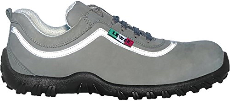 Zapatos de seguridad para hombre LEWER antideslizantes KP1 S3 linea COOL JOB - 43  -