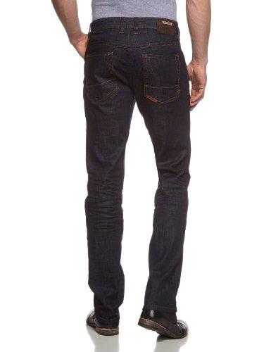 Camel Active Herren Straight Leg Jeans 9887 Blau (DARK BLUE RAW)