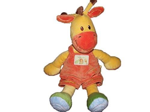 Kiabi–Doudou Kiabi jirafa amarillo naranja Ma pequeña...