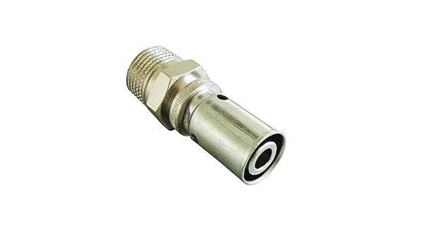 filetage male raccord /à sertir tube multicouche oventrop 1512063 15 x 21-16 mm