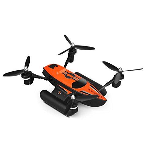 WYXlink 2017 WLtoys Q353 Triphibian 2.4 g 6-Achsen Luft-Ground-Wasser RC Quadcopter-Pre-Order H9K1 (orange)