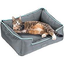 Pecute Cama de Perros y Gatos Alfombra para Mascotas Tela Impermeable Desmontable y Extraíble (S