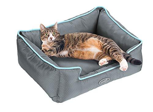 Cuccia per cani sfoderabile cuscino rettangolare in tessuto oxford impermeabile lavabile in lavatrice(s)
