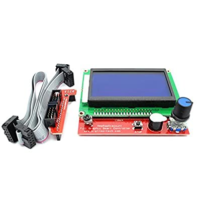 3D Printer LCD 12864 128x64 Graphic Smart Display Controller Module for RAMPS 1.4 RepRap