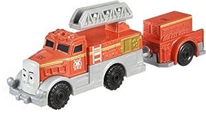 MATTEL Fisher Price dxr62–Thomas Adventures grandes Locomotora Flynn, Preescolar de parte Mundos