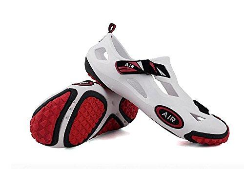 JiZhi sandali degli uomini / scarpe da spiaggia / estate / cava scarpe / set di piedi / anti-skid / traspirante / esterno / casual / a piedi 5#