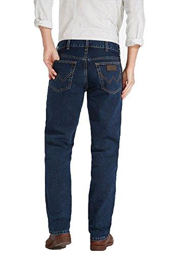 Wrangler Herren Texas Blue Black Jeans Blau (Blue)