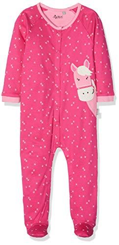 Sigikid Mädchen Overall, Baby Schlafstrampler, Rosa (Pink (Magenta 692), 68