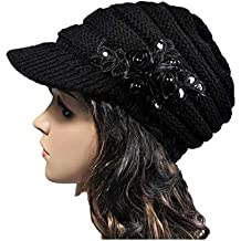 6cbfce6b4b48 OSYARD Damen Wintermütze Long Beanie Mütze, Koreanische Version Neuen  Herbst Winter Damen Hut mit Sequin