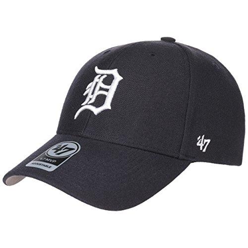 47 Brand MVP Tigers Strapback Cap Basecap Baseballcap MLB Baseballkappe Baumwollcap Basecap Cap Baumwollcap Metallschnalle