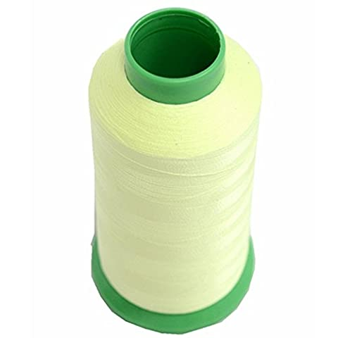 1000/3000Yards Spool Glow In The Dark Machine Embroidery Sewing Polyester Thread