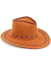 Amazon.it  cappello cowboy pelle  Abbigliamento c1787315cf51