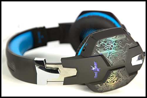 Redgear Hell Scream Professional Gaming Headphones with 7 RGB LED Colors and Vibrations(PC) Image 3