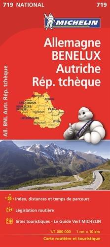Carte Nationale 719 Allemagne, Benelux, Autriche, Republique Tcheque par From Michelin