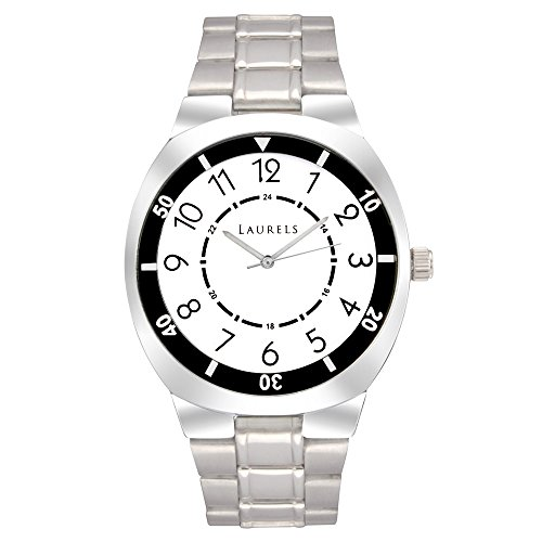 Laurels Polo 3 Analog White Dial Men's Watch ( Lo-Polo-301)
