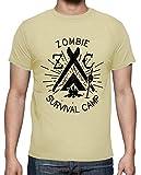 tostadora - T-Shirt Z-Camp - Uomo Crema XL