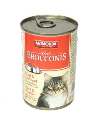 Animonda Animonda Cat Dose Brocconis Rind & Geflügel 400g
