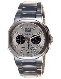 Caterpillar TA 143 11 222 - Reloj de caballero con correa de acero inoxidable - sumergible