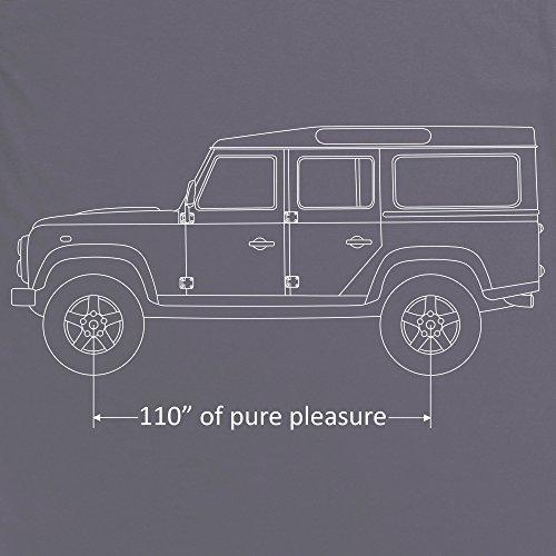 110 Inches of Pure Pleasure T-Shirt, Herren Anthrazit