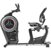 Preisvergleich für Hop-Sport Liegeheimtrainer HS-100L Ergometer Sitz Heimtrainer Bluetooth Smartphone Steuerung 12 Programme 16-Widerstandsstufen Schwungmasse 19 kg