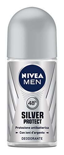 Newsbenessere.com 41Zh2t-vtsL Nivea Deodorant Uomo Silver Protect Roll-On Men 50Ml