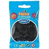 Hama Beads MINI (Pequeño 2,5 mm.) 2000 piezas (18 Negro