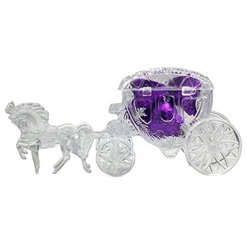 Carry stone Premium-Qualität Kutsche Form Praline Geschenkbox Baby-Dusche Hochzeit Bevorzugungen Geschenk