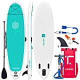 redder Paddle Planches Gonflable Zen 10'8 Yoga Stand Up Paddle Board Gonflable avec...