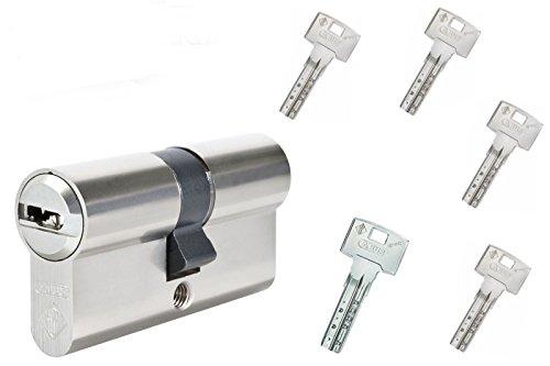 Schließzylinder Abus Bravus 2000 - 35/35 mit 5 Schlüssel - Not und Gefahrenfunktion - Top Sicherheit