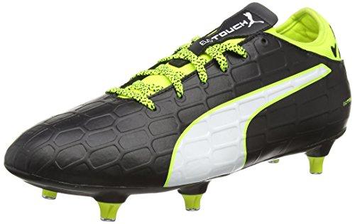 puma-evotouch-3-sg-scarpe-da-calcio-uomo-nero-schwarz-black-white-safety-yellow-01-43-eu