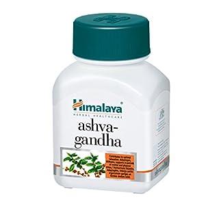 HIMALAYA HERBALS Ashwagandha   Natürliches Ergänzungsmittel gegen Stress und Angst, Veganische Kapseln - 60 Stück (Ashwagandha-1 Pack)